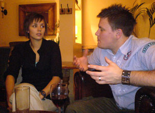 Helen and James