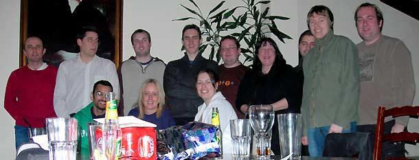 Chris, Joe, Steve, Craig, Brian, Carole, Asim, Scott, Gareth, Ajay, Mandy, Katrina
